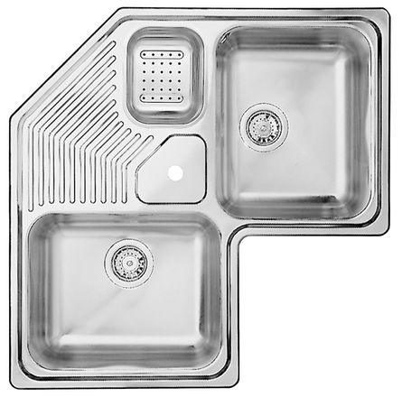 Home inox temporairement indisponible for Evier blanco 2 bacs