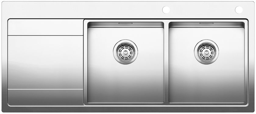 Home inox temporairement indisponible for Evier inox 2 bacs encastrable