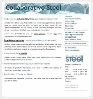 collaborative steel