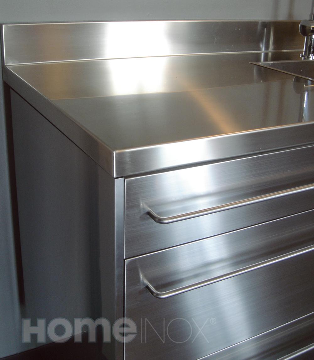 Porte Cuisine Sur Mesure Ikea meuble de cuisine ikéa plan de travail inox sur mesure
