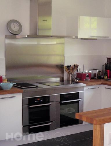 Cr dence inox et plan de cuisson inox - Credence table de cuisson ...