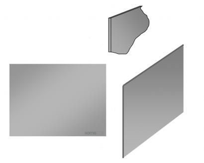 homeinox plinthe cr dence basse jusqu 39 4m t le simpl. Black Bedroom Furniture Sets. Home Design Ideas