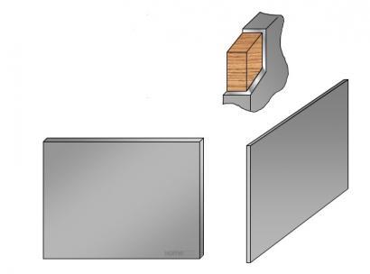homeinox plinthe cr dence basse jusqu 39 3m paisseur 11mm. Black Bedroom Furniture Sets. Home Design Ideas