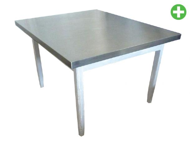 Cuisine inox plateau de table inox for Table de cuisine inox