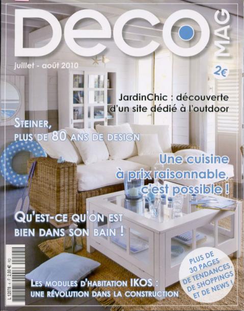 Cuisine inox magazine d co for Magazine deco cuisine