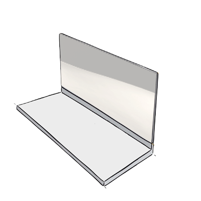 home inox votre cr dence en inox sur mesure en quelques clics. Black Bedroom Furniture Sets. Home Design Ideas