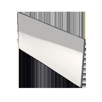Home inox plinthe de cuisine en inox sur mesure - Credence verre transparent sur mesure ...