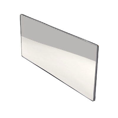 Home inox plinthe de cuisine en inox sur mesure - Credence en verre transparent cuisine ...